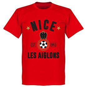 Nice Established T-Shirt - Red