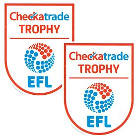 EFL Checkatrade Trophy Patch Pair