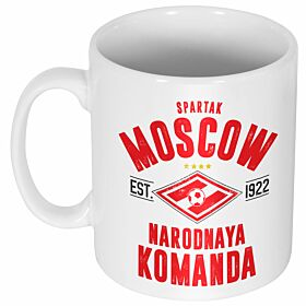 Spartak Moscow Established Ceramic Mug