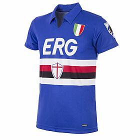 Copa Sampdoria Home Retro Shirt 1991-1992