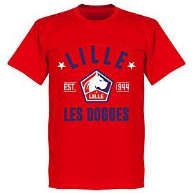 Lille Established Tee - Red