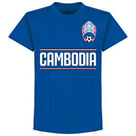 Cambodia Team T-Shirt - Royal