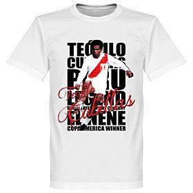 Teófilo Cubillas Legend Tee - White