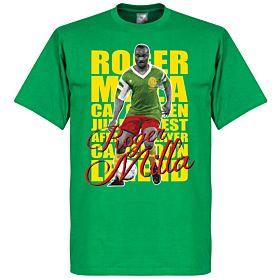 Roger Milla Legend Tee - Green