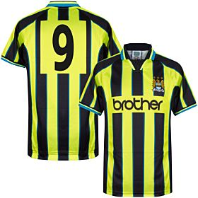 1999 Man City Retro Wembley Shirt + No.9