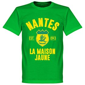 Nantes Established T-Shirt - Green