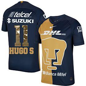 20-21 Pumas UNAM 3rd Shirt+ Hugo S 11 (Gallery Style)