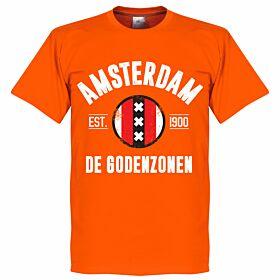 Ajax Established Tee - Orange