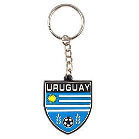 Uruguay Rubber Keyring