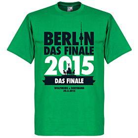 DFB Cup Final Berlin 2015 Tee - Wolfsburg