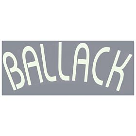 Ballack (Name Only) - 06-07 Chelsea Home Euro Official Name Transfer