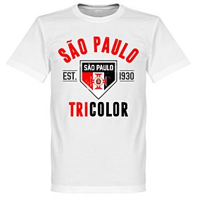 Sao Paulo Established Tee - White