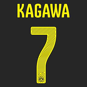 Kagawa 7 - Boys 14-15 Borussia Dortmund Away Official Name & Number