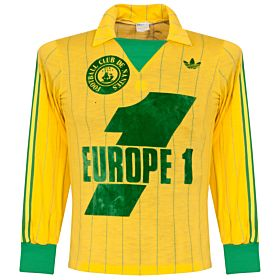 adidas FC Nantes 1979-1980 Home Jersey L/S - USED Condition (Excellent) - Size Large