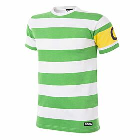 Copa Celtic Captain Tee - White/Green