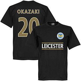Leicester City Okazaki Team Tee - Black