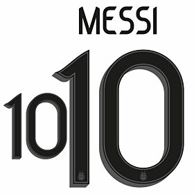Messi 10 (Official Printing) - 20-21 Argentina Home