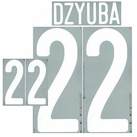 Dzyuba 22 (Official Printing)