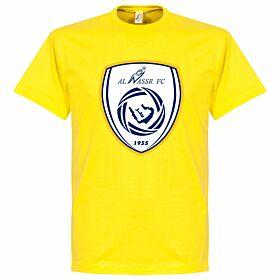 Al Nassr Logo Tee - Yellow