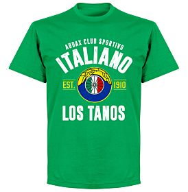 Audax Italiano EstablishedT-Shirt - Green
