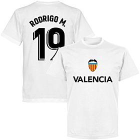 Valencia Rodrigo M. 19 Team T-shirt - White