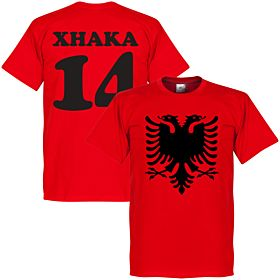 Albania Eagle Xhaka 14 Tee - Red