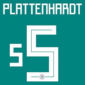 Plattenhardt 2 (Official Printing)