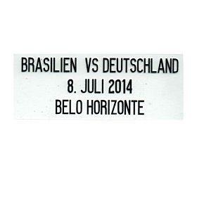 World Cup 2014 Semi Final Transfer - (Germany Home