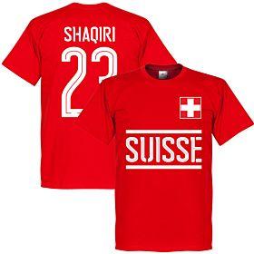 Switzerland Shaqiri Team Tee - Red