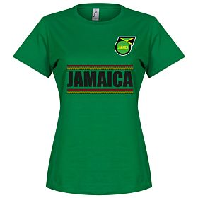 Jamaica Team Womens Tee - Green
