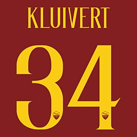 Kluivert 34 (Official Printing)