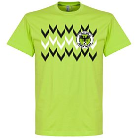 Nigeria 2018 Pattern Tee - Apple Green