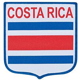 Costa Rica Embroidery Patch 9cm x 8.5cm