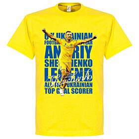 Shevchenko Legend Tee - Yellow