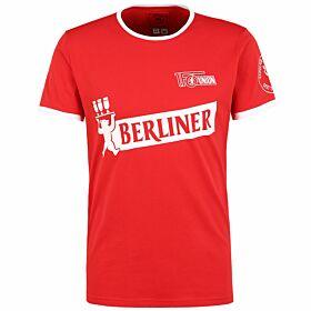 FC Union Berlin 20 Years of Berlin T-Shirt - Red/White