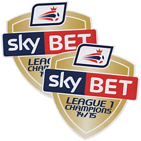 Sky Bet Football League 1 Champions Patch 2015 / 2016 (14/15 Champions)