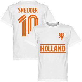 Holland Sneijder Team Tee - White