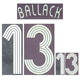 Ballack 13 - BOYS - 06-07 Germany Away Official Name Transfer