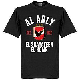 Al Ahly Established Tee - Black