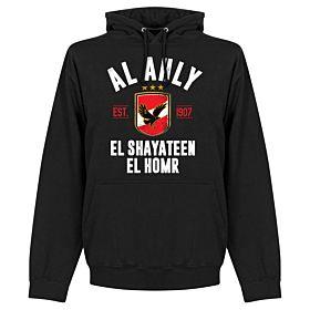 Al Ahly Established Hoodie - Black