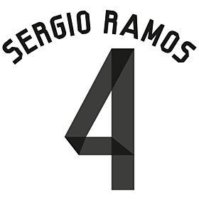 Sergio Ramos 4 - Boys