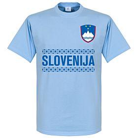 Slovenia Team Tee - Sky