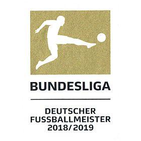 19-20 Bundesliga Champions Patches (18-19 Winners)