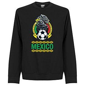 Mexico Crest Sweatshirt - Black