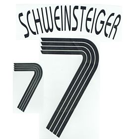 Schweinsteiger 7 - 05-07 Germany Home KIDS Official Name and Number