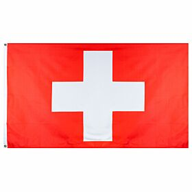 Switzerland Large National Flag (90x150cm approx)