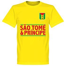 São Tomé and Príncipe TeamT-Shirt - Yellow