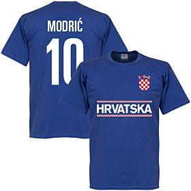 Croatia Modric 10 Team Tee - Royal