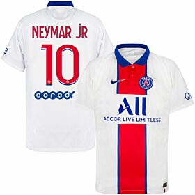 20-21 PSG Away Shirt + Neymar Jr 10