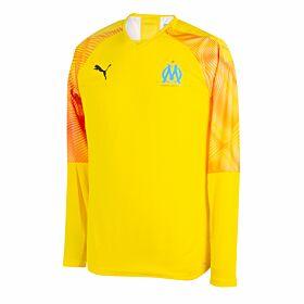 19-20 Olympique Marseille L/S GK Authentic Promo Shirt